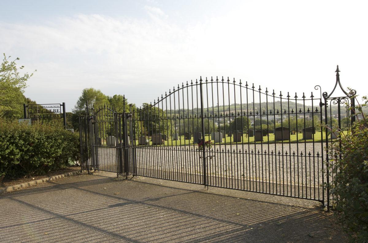 Glebe Cemetery Entrance