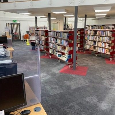 Penryn Library Interior 2