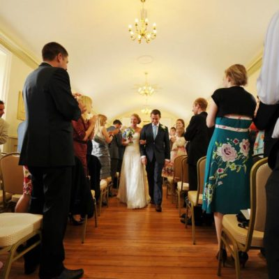 Town Hall Wedding Photo 8