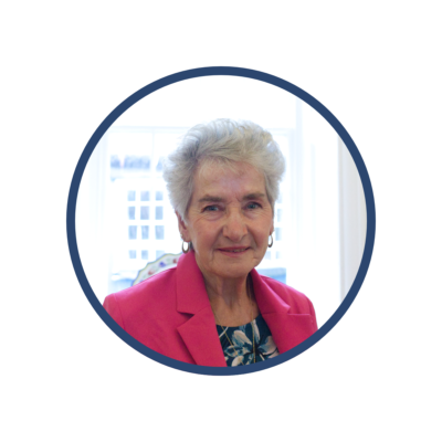 Portrait photo of Councillor Margaret Harrison