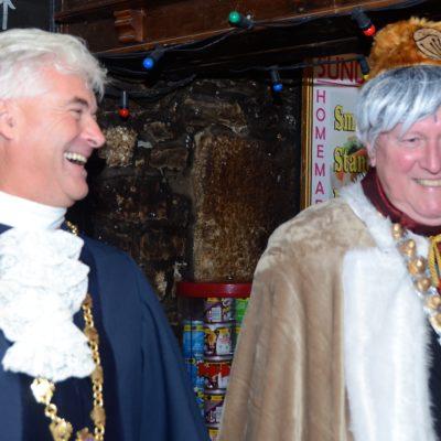 Mayor and Mock Mayor